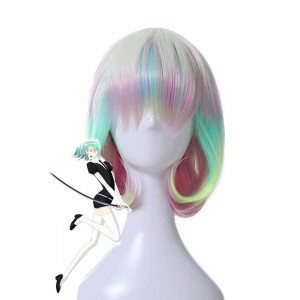 Land of the Lustrous Diamond Multicolor Cosplay Wigs