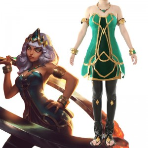 LOL Qiyana Skin Cosplay Costume
