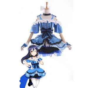 Love Live! Kira-Kira Sensation Umi Sonoda Anime Cosplay Costumes Stage Dresses