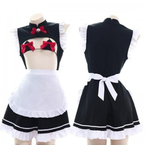 Maid Bow Cute Lingerie Cosplay Costume
