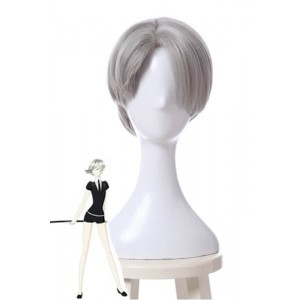 Land of the Lustrous Houseki no Kuni Cairngorm Grey Cosplay Wigs