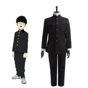 Mob Psycho 100 Mob Japanese High School Student Uniform Cosplay Costume