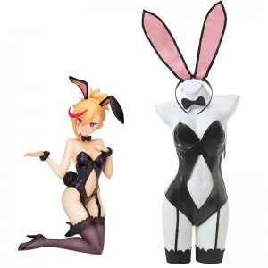 Muse Dash Rin Black Bunny Girl Jumpsuit Cosplay Costume Main