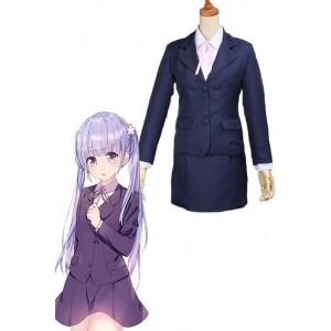 New Game!!Suzukaze Aoba Uniform Cosplay Costumes