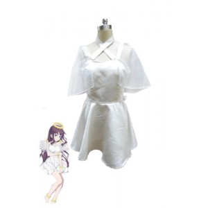 New Game!! Takimoto Hifumi White Dress Cosplay Costumes