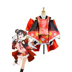 Love Live! Yazawa Nico Monster Awakening Cosplay Costume
