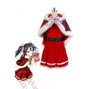 Love Live Yazawa Nico Christmas Dresses Cosplay Costumes