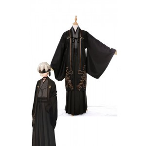 Video Game Nier: Automata Game 9s Kimono Cosplay Costumes