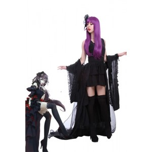 Tokyo Ghoul Sendasly Black Fancy Dress Cosplay Anime Girl Outfits