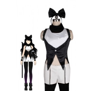 Blake Belladonna Female Black and White Costumes