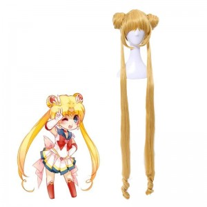 Princesa Sailor Moon cosplay peluca