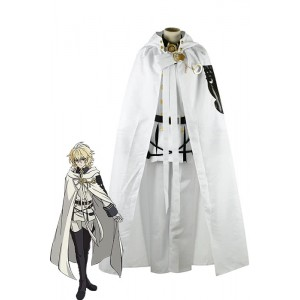 Seraph Of The End Hyakuya traje de cosplay Mikaela