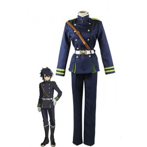 Seraph Of The End Hyakuya traje de cosplay Yuichiro