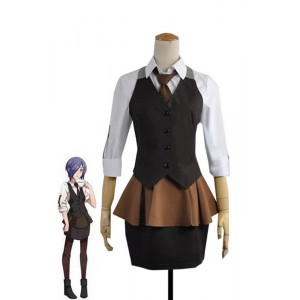 Tokyo Ghoul Touka Kirishima Work Uniform Cosplay Dress Cosplay For Female