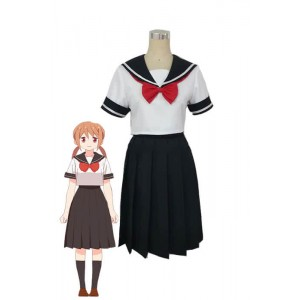Tsurezure Children Chizuru Takano White Black Dress School Uniform Cosplay Costumes