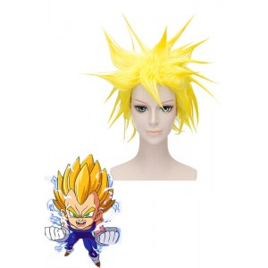 30cm amarillo Dragon Ball Vegeta Cosplay