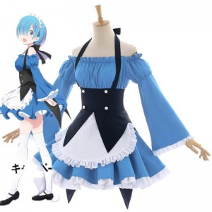 ZERO Starting Life in Another World Rem New Anime Cosplay Costumes
