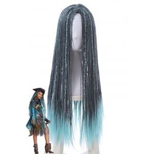 Descendants 2 Uma Movie 70cm Mixed Color  Cosplay Wigs