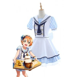 Love Live Pirate Set Rin Hoshizora Cute Dress AnimeCosplay Disfraces