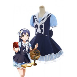 Love Live Pirate Set Umi Sonoda Cute Dress AnimeCosplay Costumes