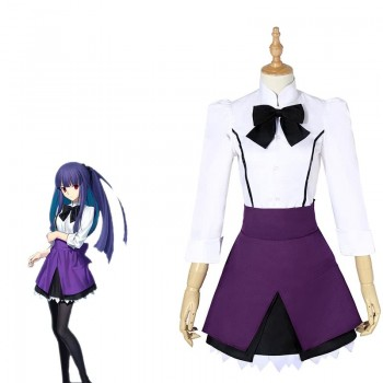 The Garden of sinners Chapter 3 Asagami Fujino Anime Cosplay Costumes Full Sets