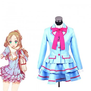 Fresh Pretty Cure Minamino Kanade traje de cosplay
