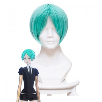 Houseki no Kuni Phosphophyllite Land of the Lustrous Short Green Cosplay Wigs