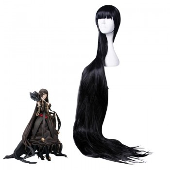 Fate/Apocrypha Semiramis 120/150 cm Long Black Cosplay Wig