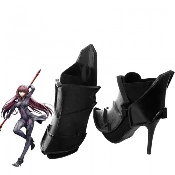Fate / Grand Order Lancer Scáthach Black Cosplay Shoes