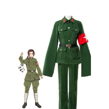 Traje Cosplay Hetalia China, Uniforme