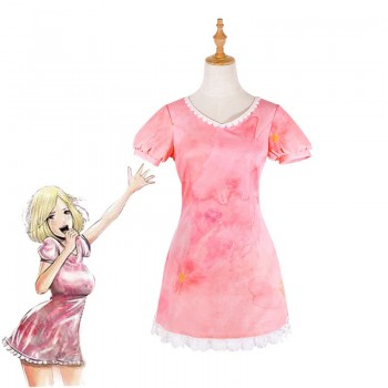 Back Street Girls Pink One Piece Dress Cute Cosplay Costume