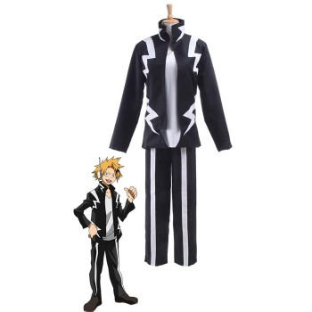 My Hero Academia Kaminari Denki Anime Cosplay Outfits