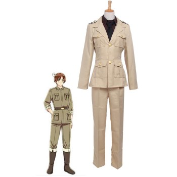 Axis Powers Hetalia Feliciano Vargas Italy Uniform Cosplay Costume