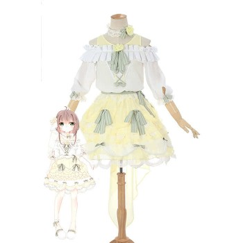 Cardcaptor Sakura Clear Card-gallina Sakura Kinomoto Anime Cosplay Disfraces Cute Girl Dresses