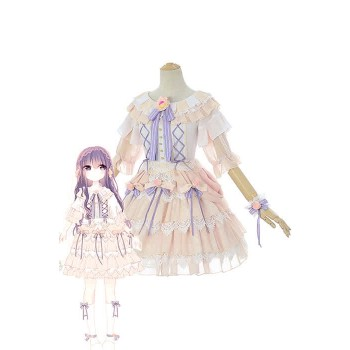 Cardcaptor Sakura Clear Card-gallina Tomoyo Daidouji Anime Cosplay Disfraces Cute Girl Dresses