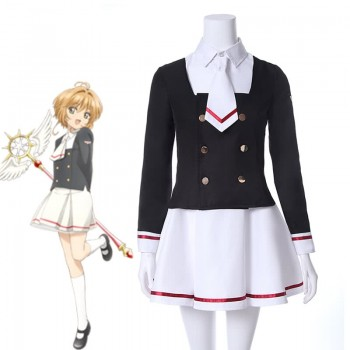 Cardcaptor Sakura Clear Card Tomoyo Daidouji Skirt Anime Cosplay Disfraces