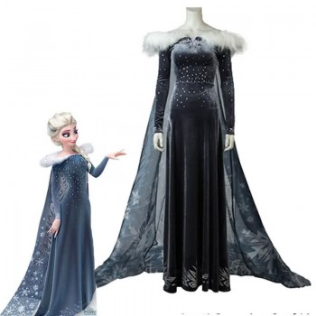 Frozen Adventure Elsa the Snow Queen Disfraces de Anime Cosplay