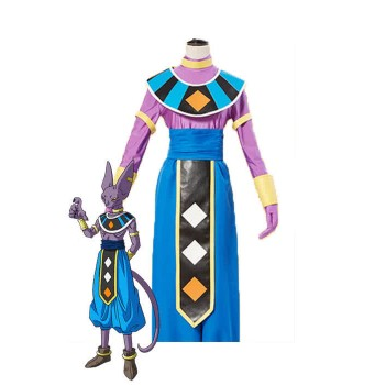 Dragon Ball Super Beerus Blue Anime Disfraces Cosplay