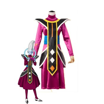 Dragon Ball Super Whis Purple Anime Disfraces de Cosplay