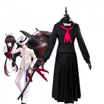 Fate/Grand Order  Black Student Uniform Cosplay Costume