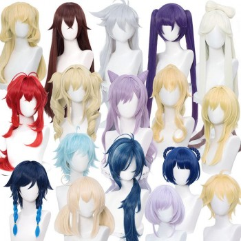 Game Genshin Impact Cosplay Wigs