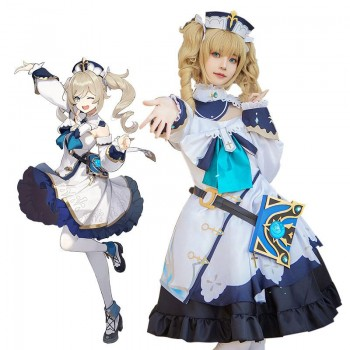 Game Genshin Impact Shining idol Cosplay Costume