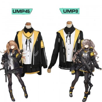 Game Girls Frontline  UMP45/UMP9 Cosplay costume Full Sets