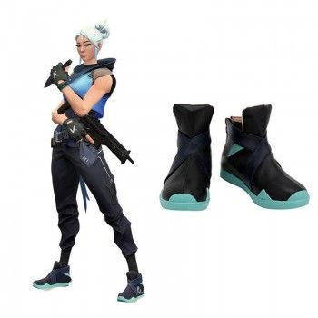 Game Valorant Project A Cosplay Jett Cosplay Shoes