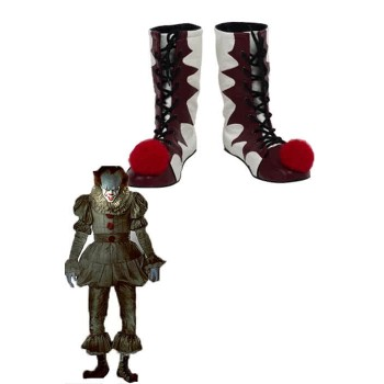 Halloween Movie It Pennywise Cosplay Zapatos
