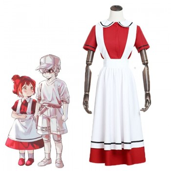 Hataraku Saibou Juvenile Red Blood Cell Dress Cells At Work Anime Cosplay Costume