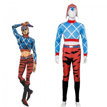 Guido Mista Full Sets Cosplay Costume