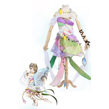 Love Live! Flower Fairy Awaken Kotori Minami Cosplay Costume Dress