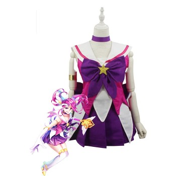 LOL Star Guardian Lux Cosplay Costumes