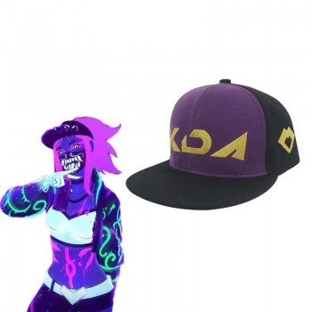 LOL KDA Skin Akali Cosplay Hat